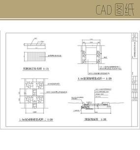 园路CAD图纸