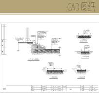 园路施工图 CAD