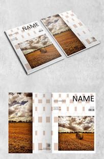 自然简约农业画册封面