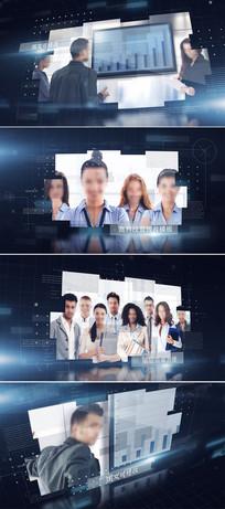 高科技企业宣传片头ae模板