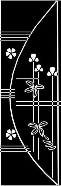 花儿朵朵雕刻图案