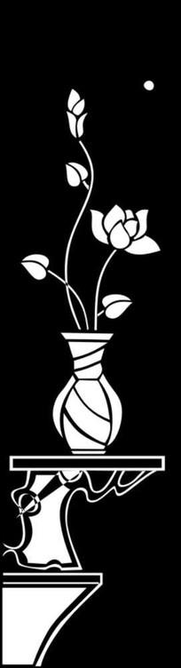花瓶雕刻图案