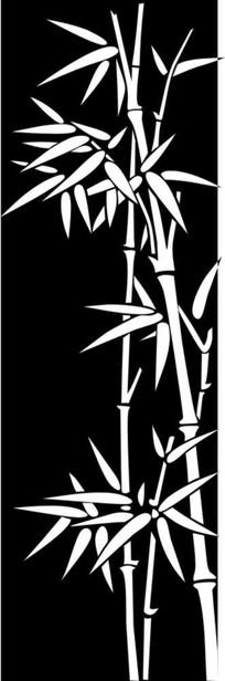 金竹雕刻图案
