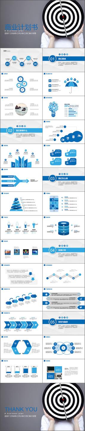 商业计划书项目策划PPT模板