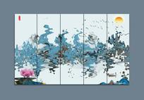 山水意境装饰画