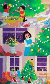 新年圣诞节日片头视频