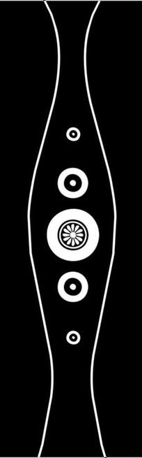 圆环圆圈雕刻图案
