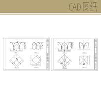 贝壳紫藤架CAD CAD