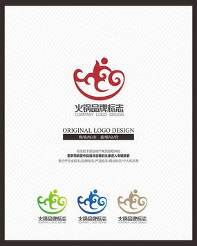 餐饮美食火锅餐饮业标志设计
