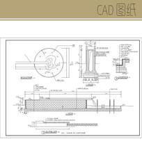 跌水景墙CAD CAD