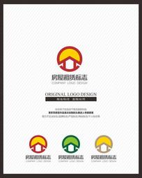 房屋租赁交易网站标志设计