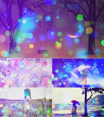 歌曲为爱付出舞台背景视频