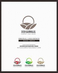 古蕴茶叶茶业茶器企业标志设计