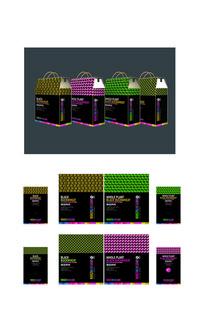 黑苦荞茶节日特产品包装