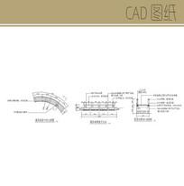 弧形小桥CAD