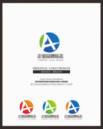 简约A企业标志设计