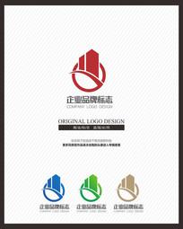 建筑地产企业商业标志