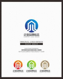 建筑地产商业标志设计 CDR