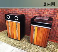 景观垃圾箱 JPG