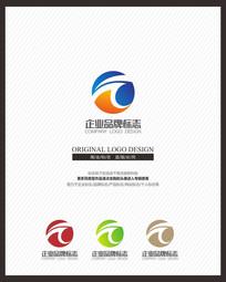 科技IT企业时尚标志设计