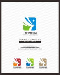 清洁家政公司现代标志设计