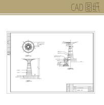 特色小品构筑物CAD