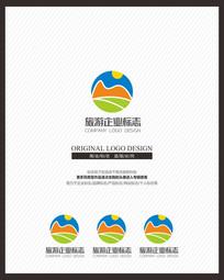 文化旅游意境标志设计