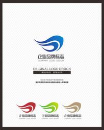 现代能源运输快递电讯企业标志