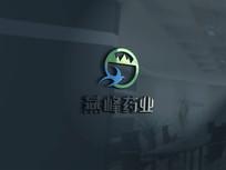 燕峰药业LOGO字体设计