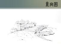 园路手绘线稿 JPG