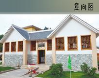 中式乡村公厕建筑
