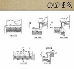 挡墙立剖面CAD