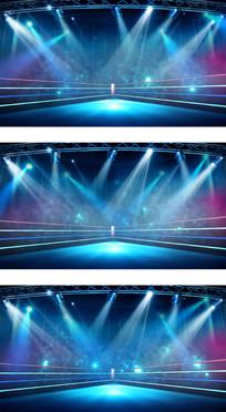 巅峰对决PK擂台赛场灯光舞台