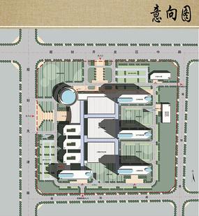 妇幼保健院远期规划平面图