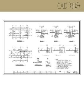 山庄建筑及结构图 公厕结构图cad 组织架构图模板结构图ppt 牌楼平,立