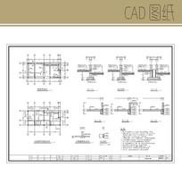 公厕结构图CAD