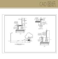 花岗岩花池 CAD