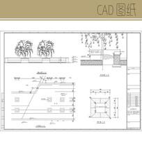 花岗岩树池 CAD