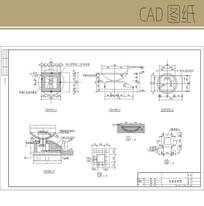 花盆CAD分析图