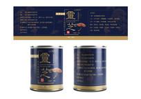 灵芝破壁孢子粉标签包装设计