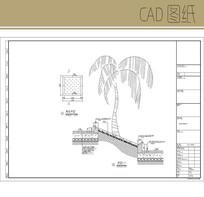 树池平面及做法 CAD