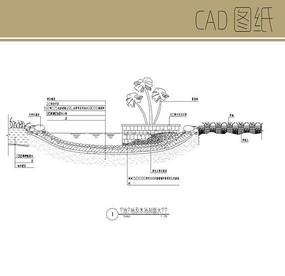 水池剖面图
