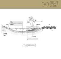 水池剖面图 CAD
