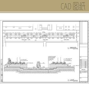 水轴树阵详图 CAD