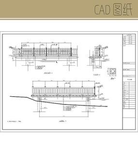 塑木栏杆详图