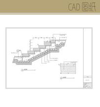 台阶大样图 CAD
