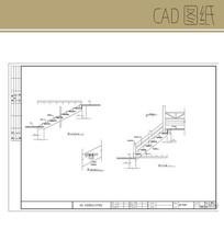 台阶施工图 CAD