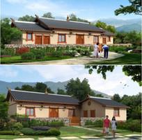 新式民居建筑效果图