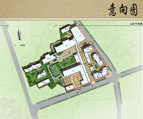 医院规划总平