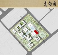 医院建筑规划布局平面图